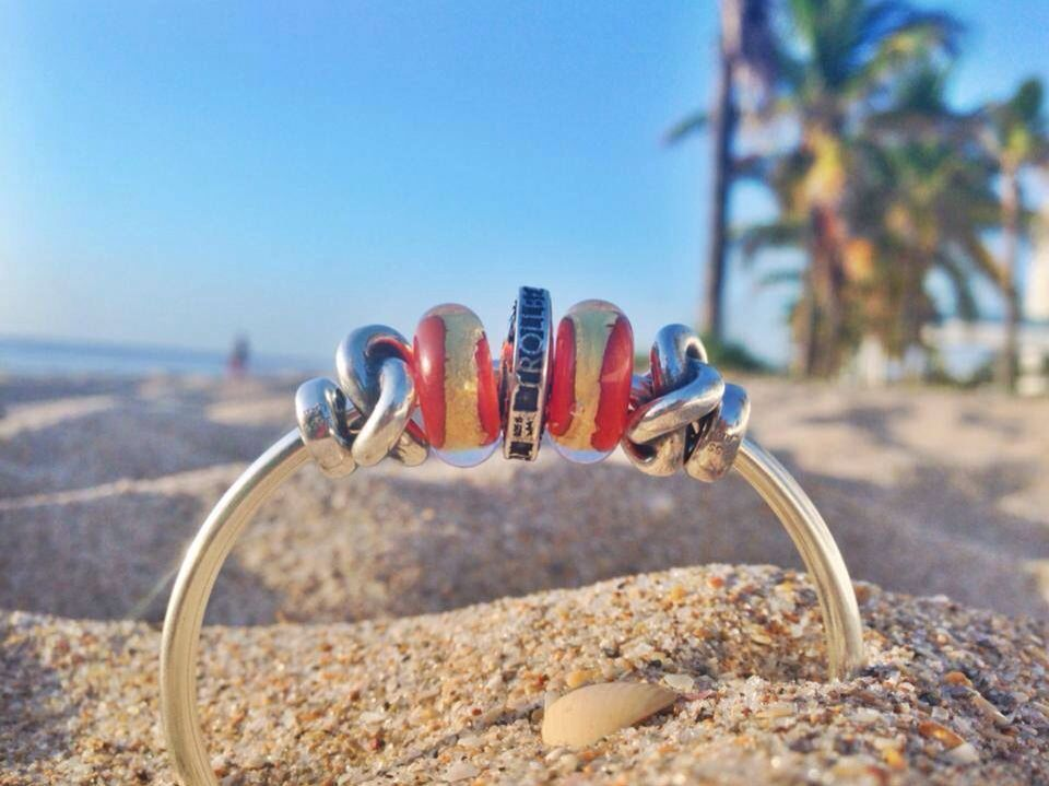 Trollbeads at the Beach