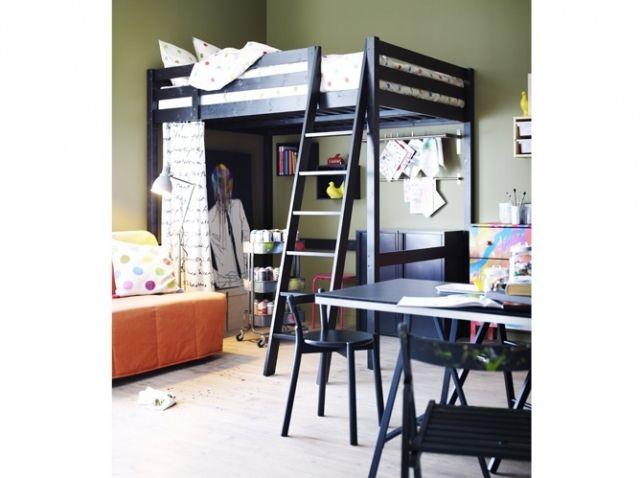 10 studios pour s inspirer chambre ados pinterest chambre ado lit mezzanine chambre lit. Black Bedroom Furniture Sets. Home Design Ideas