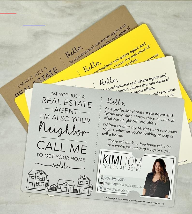 SET of I'm not just a Real Estate Agent, I'm also your