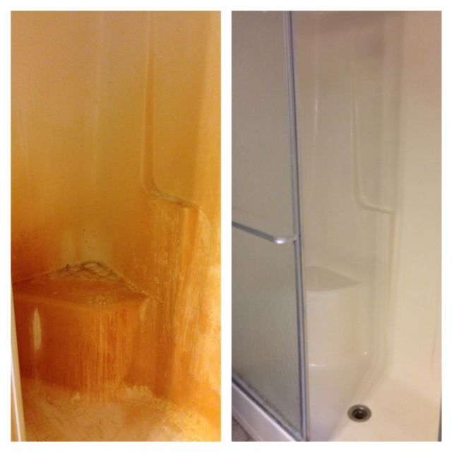 Years Of Hard Water Stains From Renters Not Cleaning Made The