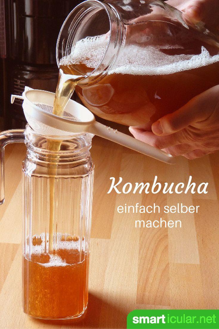 Kombucha - den fermentierten Tee einfach selber machen