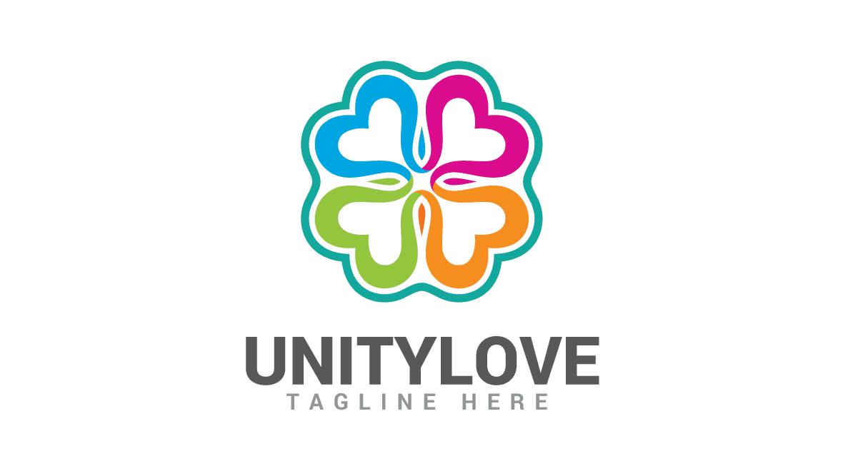 Floweris Logo Love Logo Logo Design Unity