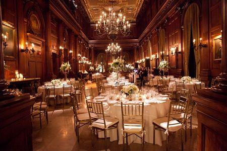Autumn Weddings Elegant Ballroom Wedding Decor Ideas