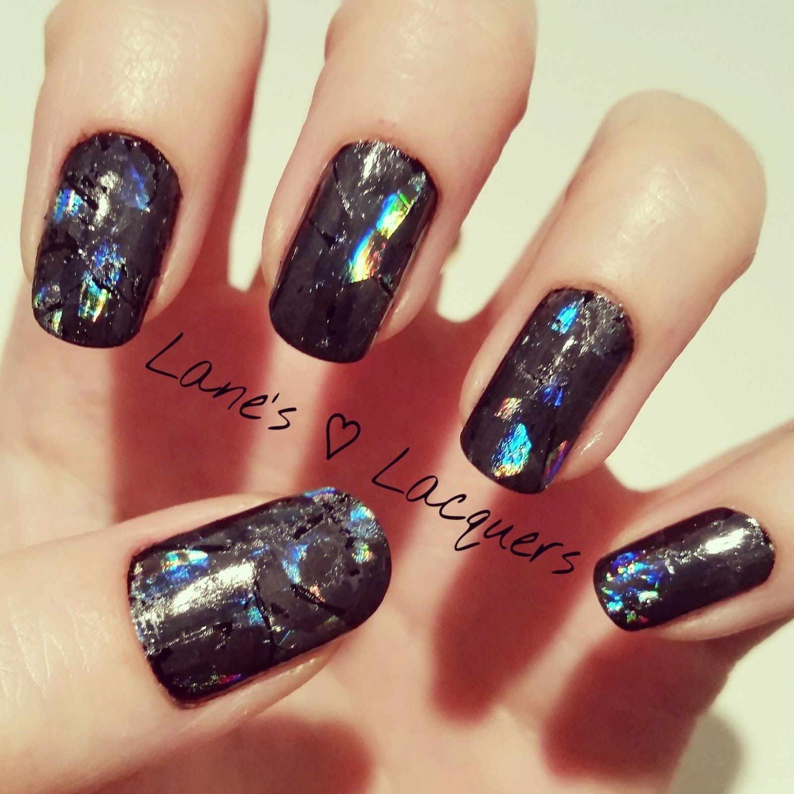 Shattered Glass Nail Art Lanes Lacquers Pinterest Nail Technician