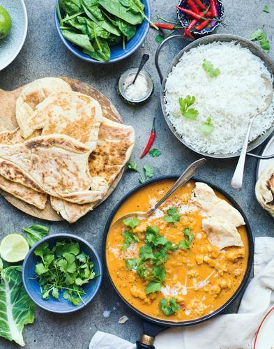 Chou-fleur tikka massala et riz #vegetarischerezepteschnell