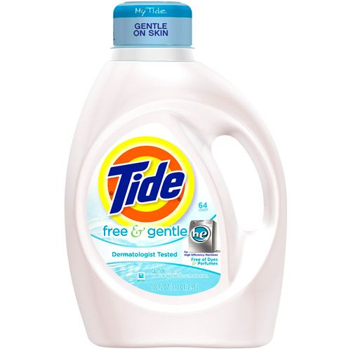 Tide Free Gentle He Liquid Laundry Detergent 100 Fl Oz 64 Loads Walmart Com Tide Free And Gentle Gentle Laundry Detergent Best Laundry Detergent