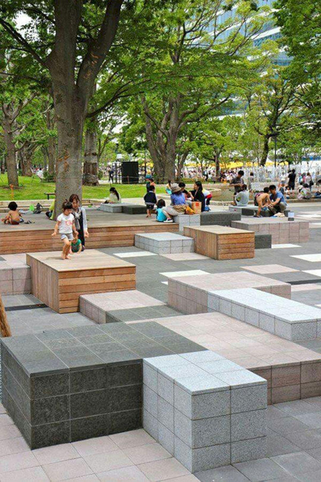 Impressive Urban Public Seating Designs