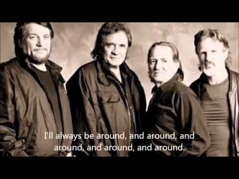 Johnny Cash, Willie Nelson The Highwayman - YouTube | Willie