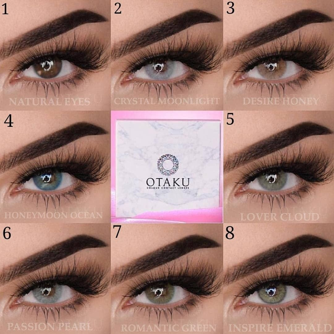 1 8 Which Color Do You Like To Own Gorgeous Eyes By Nessasunshine Otakulens Official Eyes C Natural Color Contacts Contact Lenses Colored Contact Lenses