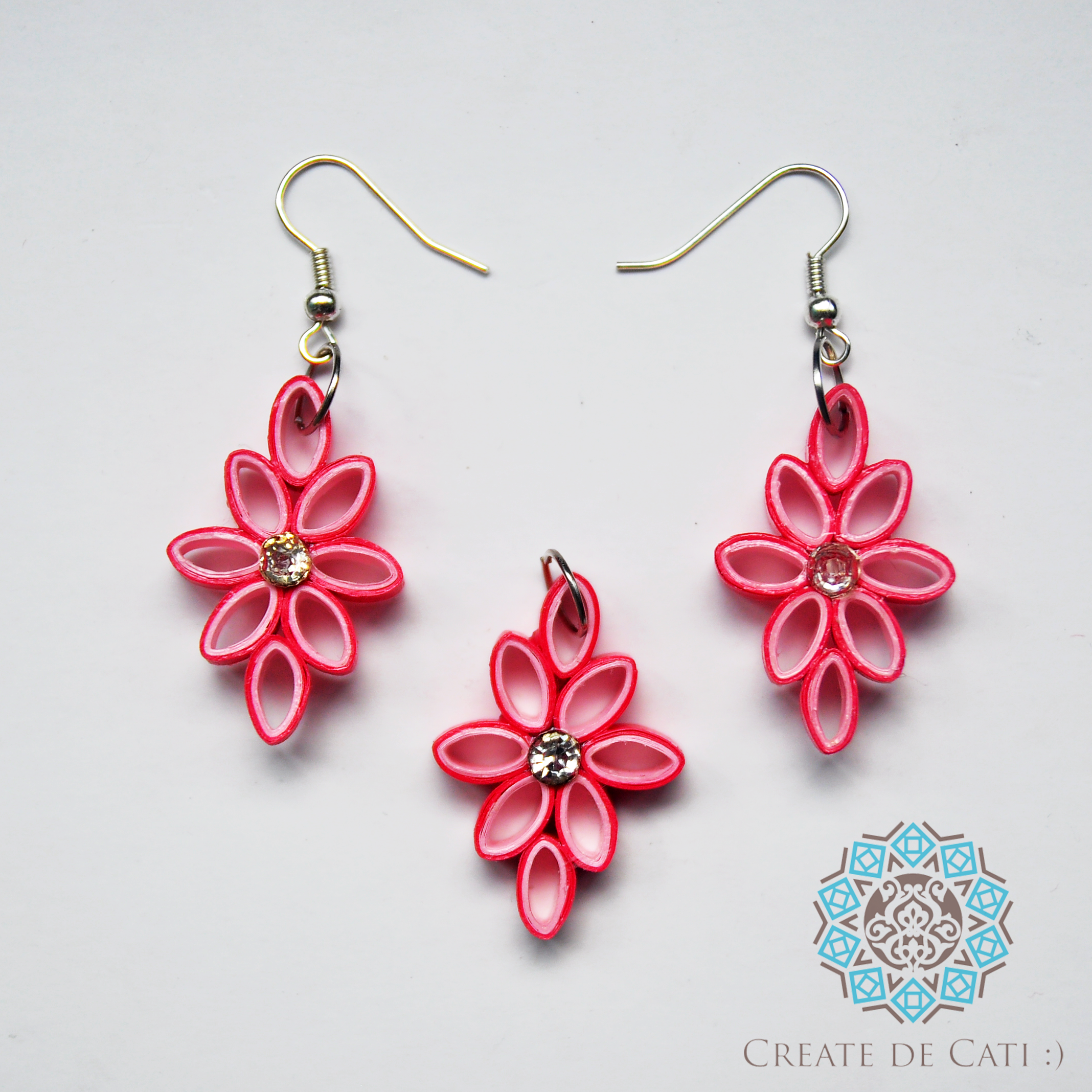 Quilling Papers Earrings: Paper Quilling Earrings, Paper