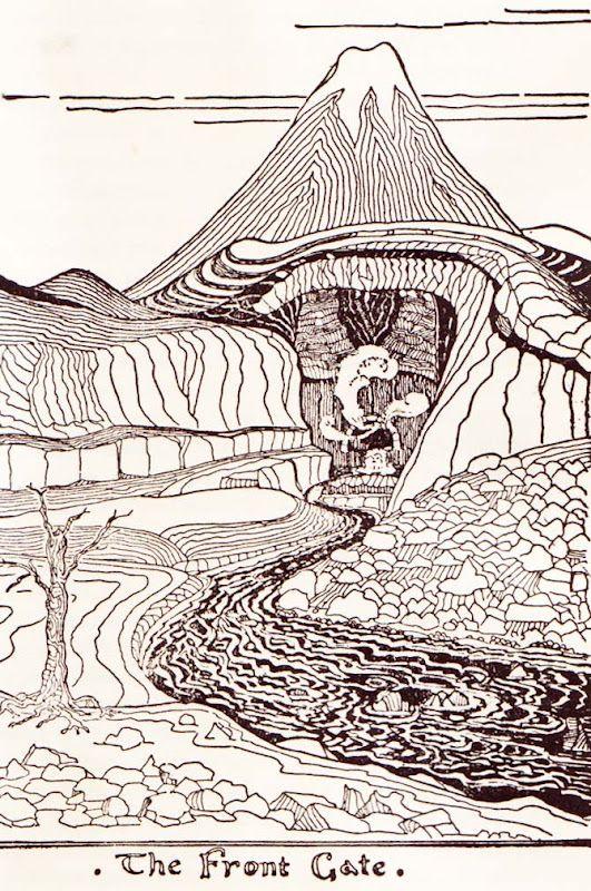 Vintage Kids' Books My Kid Loves: The Hobbit | Tolkien illustration, Tolkien artwork, Tolkien art