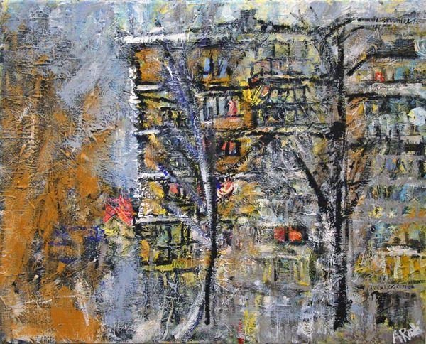 alyse adenovic - abstract cityscape