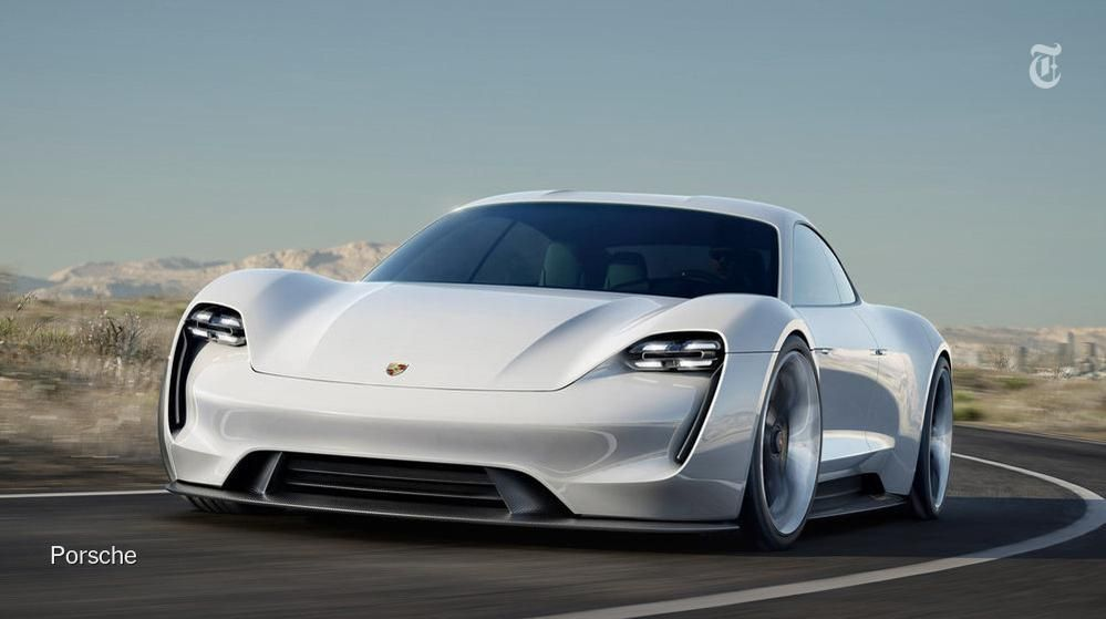 Porsche Unveils Electric Concept Car That Reaches 60 MPH In Under 3.5  Seconds. Http: · Fast CarsCool ...