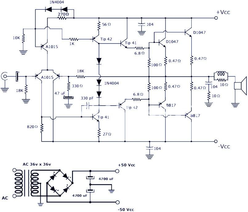 200w power amplifier circuit schematic graphic design200w power amplifier circuit schematic