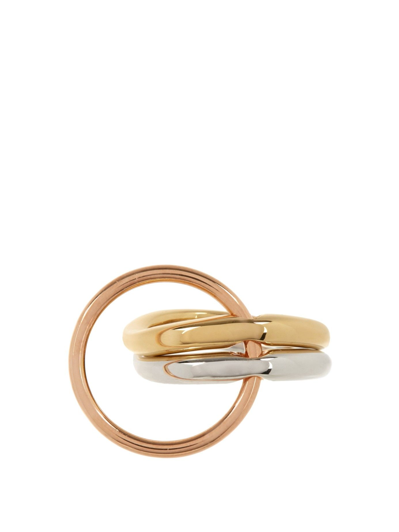 Charlotte ring gold