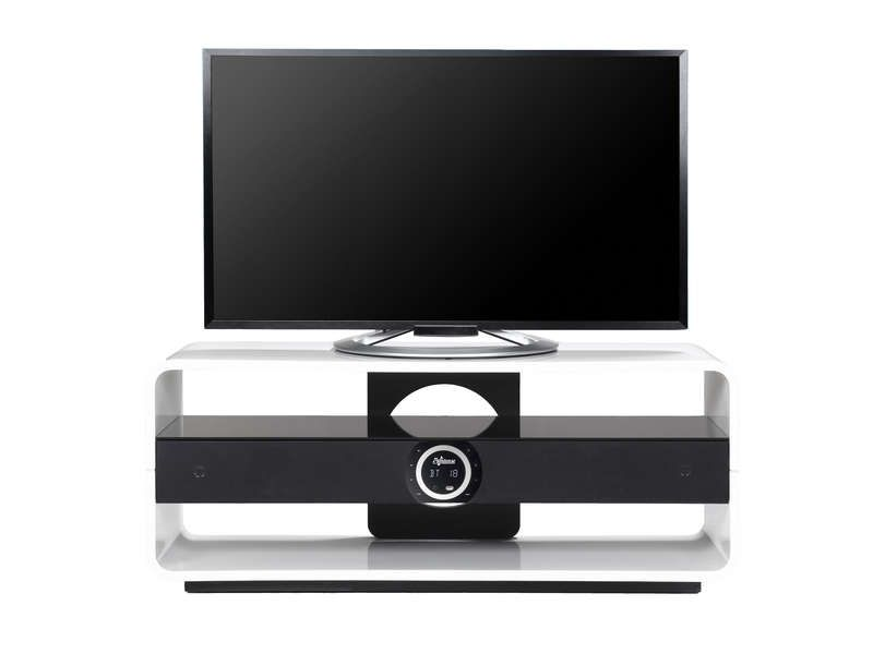 meuble tv intense storm white storms tvs and bluetooth. Black Bedroom Furniture Sets. Home Design Ideas