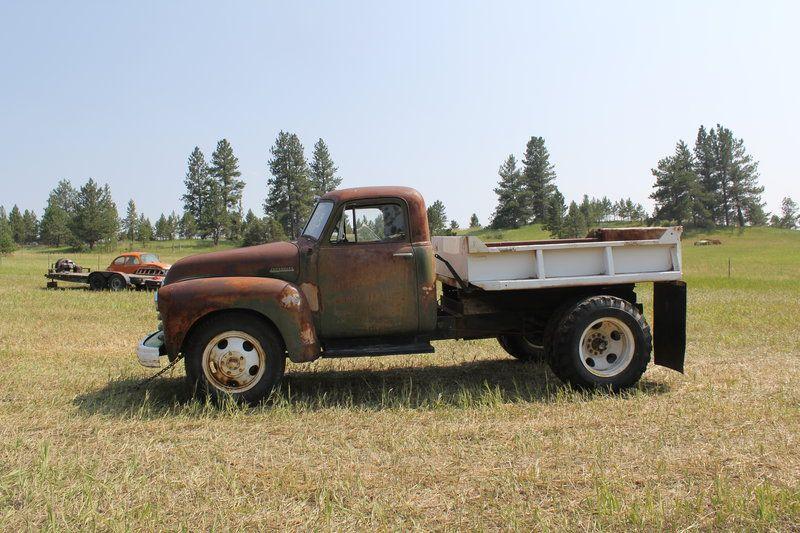 1949 Chevrolet 1 1 2 Ton Dump Truck For Sale By Owner Columbus Mt Oldcaronline Com Classifieds Dump Trucks For Sale Chevrolet Trucks For Sale
