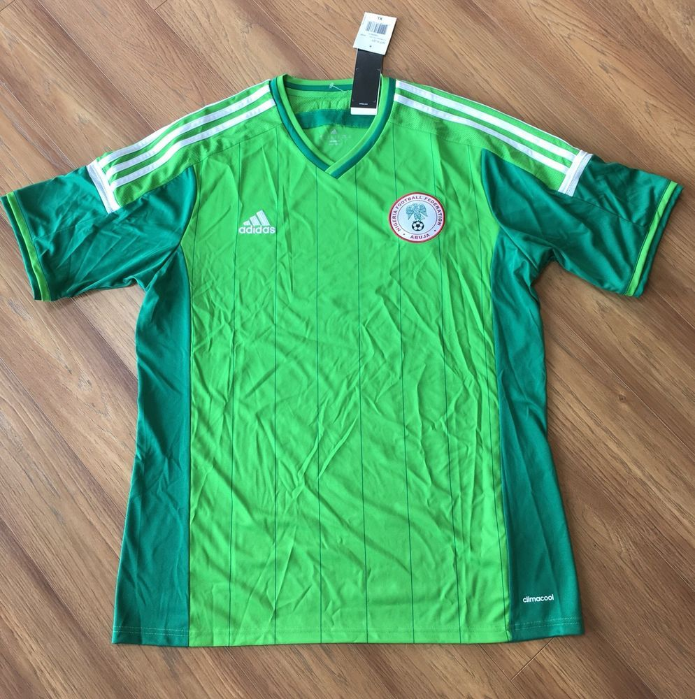 Fifa World Cup Soccer Jersey Nigeria Football Federation Abuja Ebay Soccer Jersey Adidas Men Mens Tops