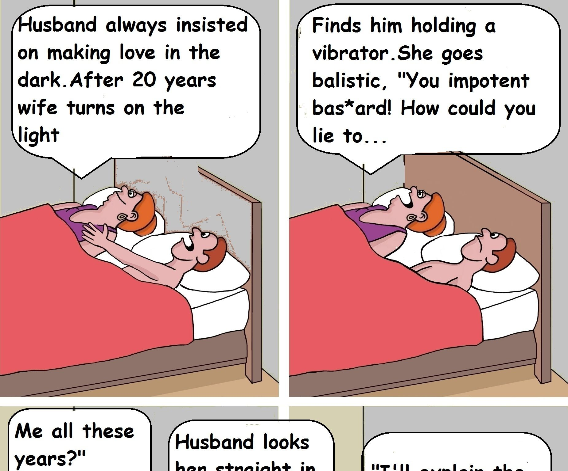 Husband Lies To Wife Life Improvement With Laughter Funny Marriage Jokes Funny Cartoon Quotes Funny Relationship Jokes