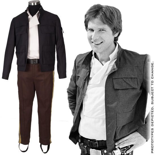 Who's scruffy-looking? Not you in this officially licensed, premium Han Solo replica costume from Anovos. Serious research went into this dashing ensemble.