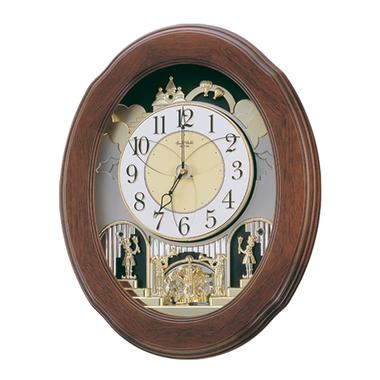 4mh411wu06 Joyful Nostalgia Wall Clock Clock Oversized Wall Clock