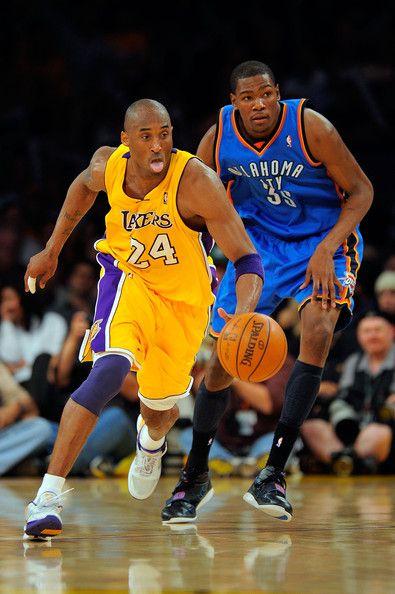 c30c36db6f29 Kobe Bryant Kevin Durant Photos Photos  Los Angeles Lakers v ...