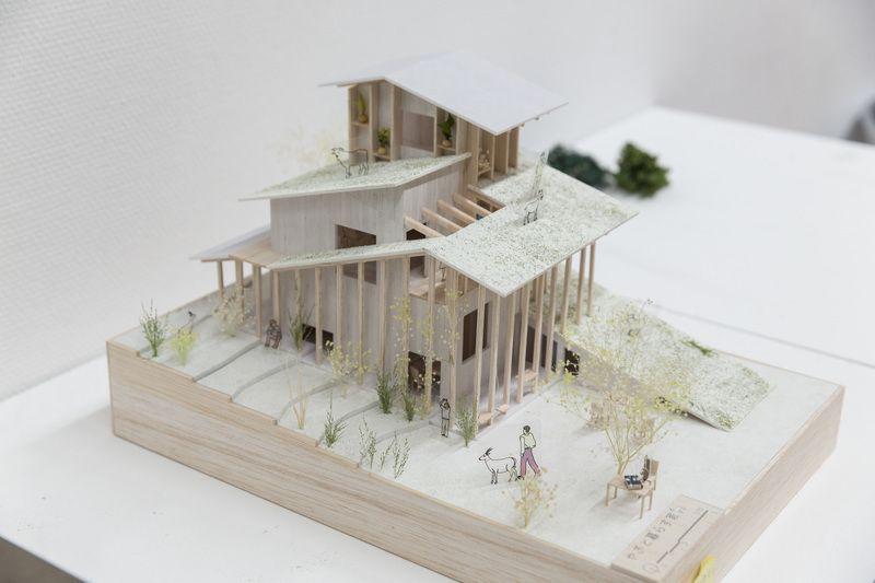 受賞作品 木の家設計グランプリ 建築模型 インテリア 模型 建築