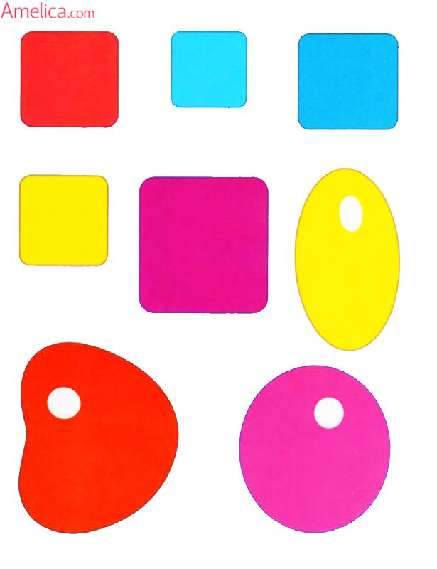 аппликация для малышей 2-3 года, распечатать шаблоны ...
