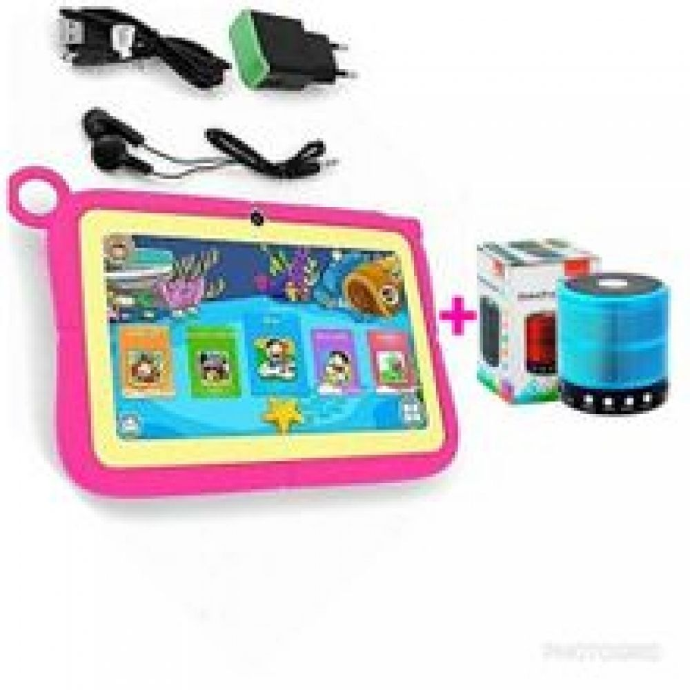 Ccit K9 Kids Tablet 16gb Hdd 1gb Ram 7 Pink Free Cover Free Bluetooth Speaker Kids Tablet Kid Tablet Creative Apps