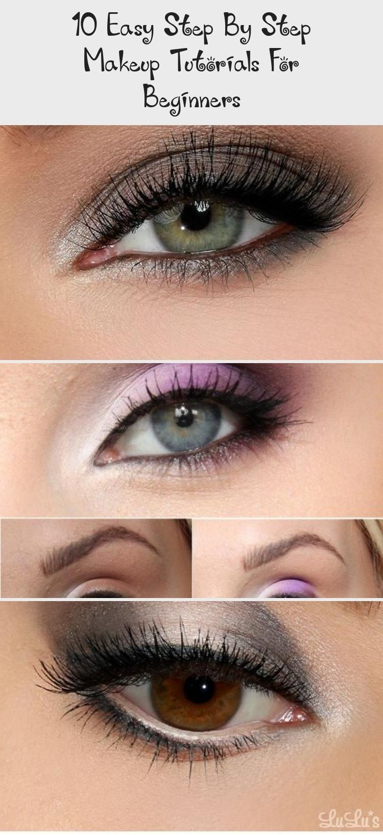 10 Easy Step By Step Makeup Tutorials For Beginners