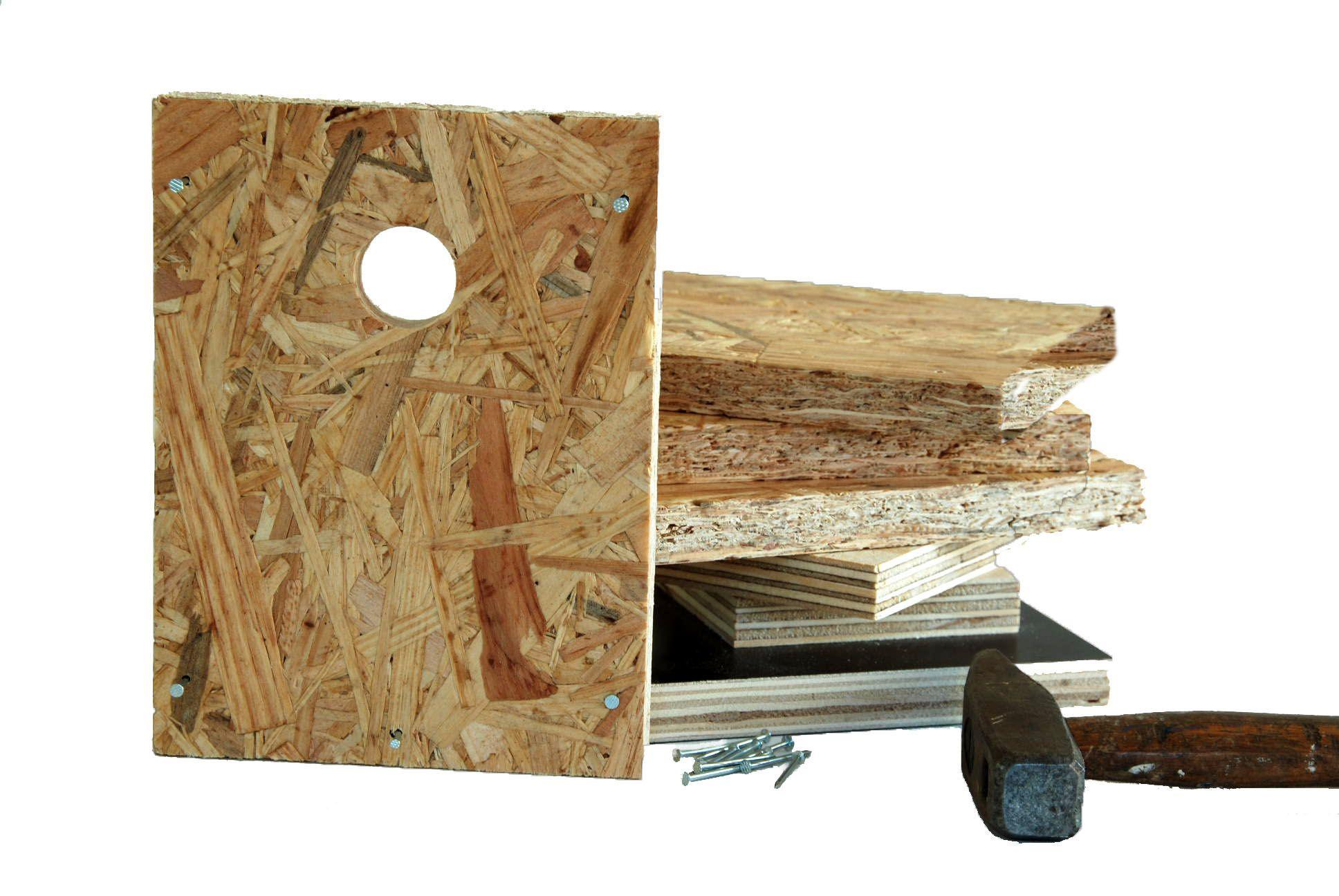 Zelluf doen? Kan! #DIY vogelhuis. Je hoeft alleen nog maar een hamer op te zoeken. Of te lenen :)