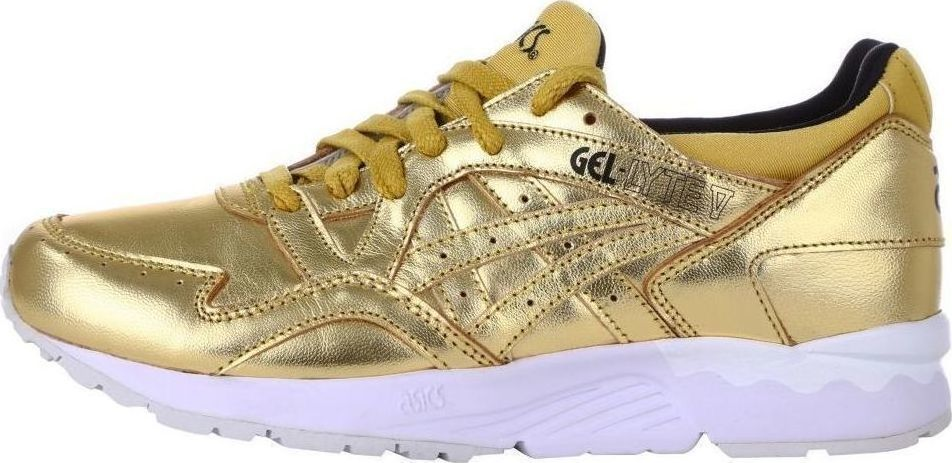 more photos b82b6 35569 ASICS GEL-LYTE V (5) LIQUID GOLD TRAINERS SNEAKERS RUNNING ...
