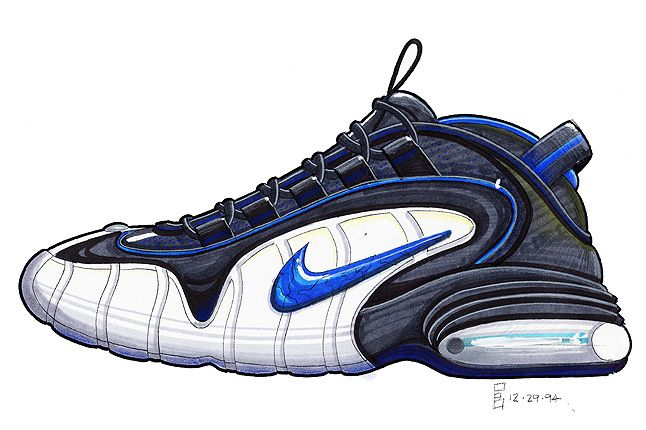a93c38512c The Making Of The Nike Air Penny! | Sneakers in 2019 | Nike ...