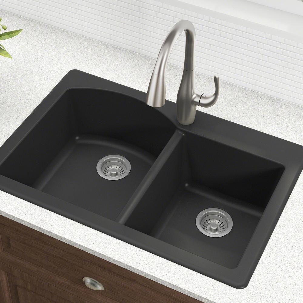 ECOSUS™ Granite Composite Kitchen Sink Single Bowl