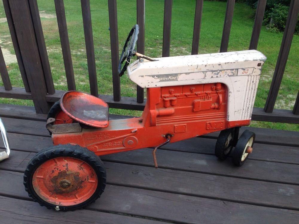 Vintage pedal tractors more detail