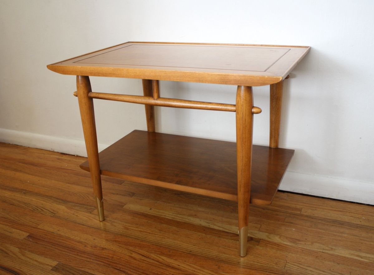 Mid Century Modern Side End Table Nightstands End Tables Mid