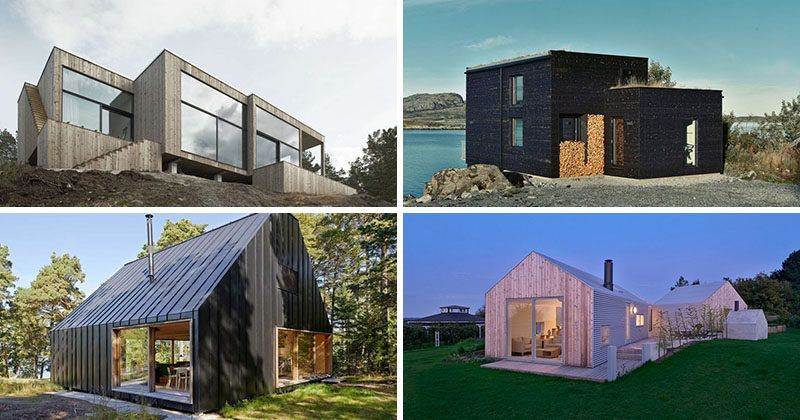 Scandinavian Countries Are Known For Their Simple Design Here Are 19 Modern Scandinavian House Barn House Design House Designs Exterior Small House Exteriors