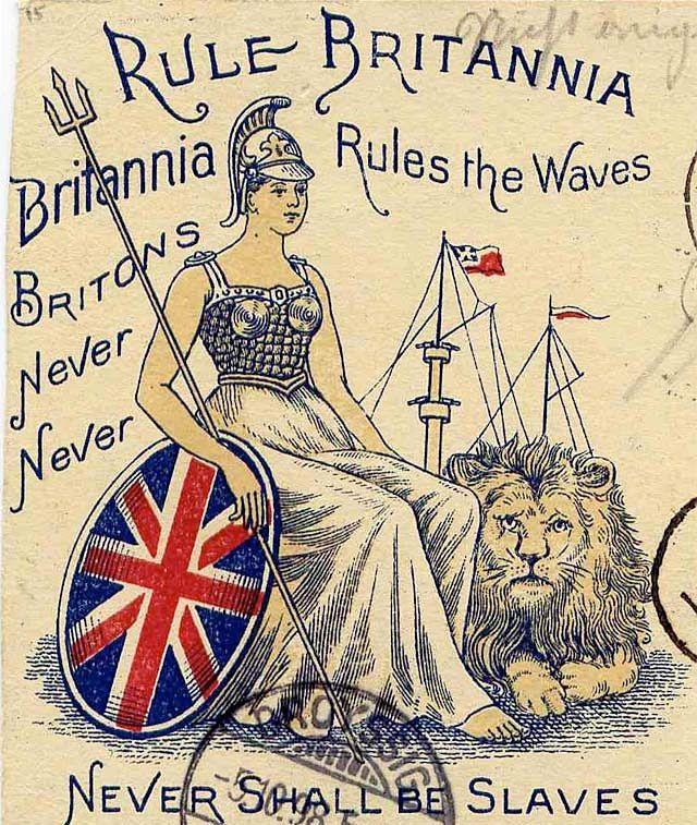 Rule Britannia  Britannia Rules the Waves.