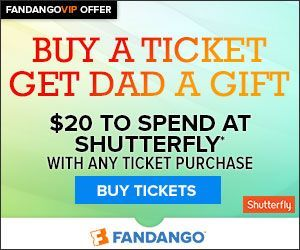 Free 20 Shutterfly Gift Card From Fandango Get Your Deal
