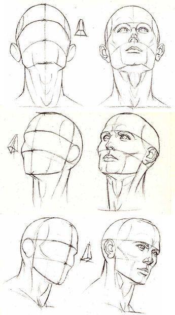 Dibujos De Tecnicas Para Aprender A Dibujar Rostros De Personajes Dibujar Rostros Aprender A Dibujar Rostros Como Dibujar Rostros