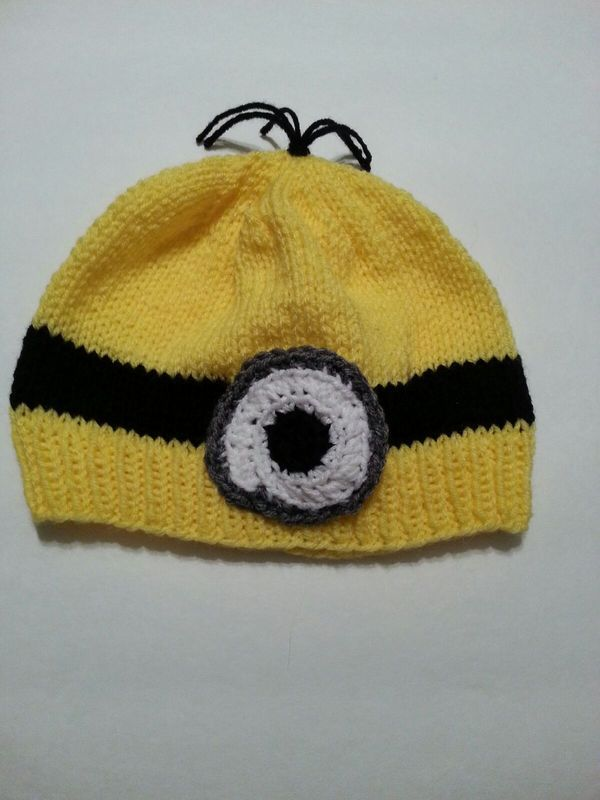 Fancy Minion Hats Knitting Pattern Vignette - Easy Scarf Knitting ...