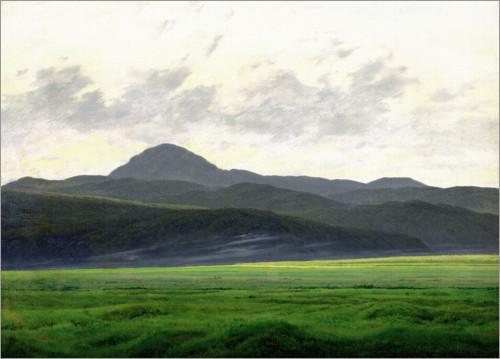 Caspar David Friedrich Mountainous Landscape I 2020 Med Bilder Landskapsmalningar Konststilar Caspar David Friedrich
