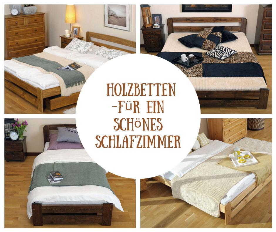 Holzbetten In 2020 Holzbetten Bett Mit Lattenrost Kiefer Mobel
