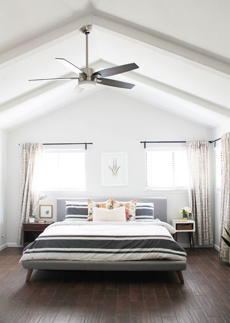 Take a look inside a family home\'s newly renovated master bedroom ...