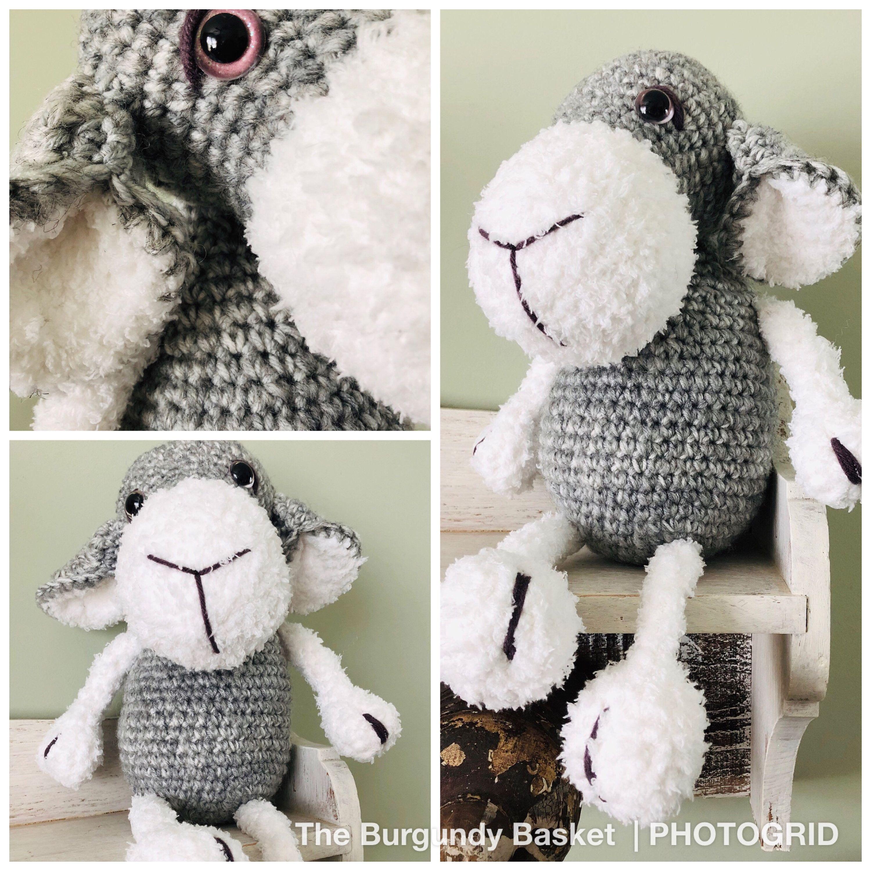 Amigurumi Cute Sheep Free Pattern - Crochet.msa.plus | 3000x3000