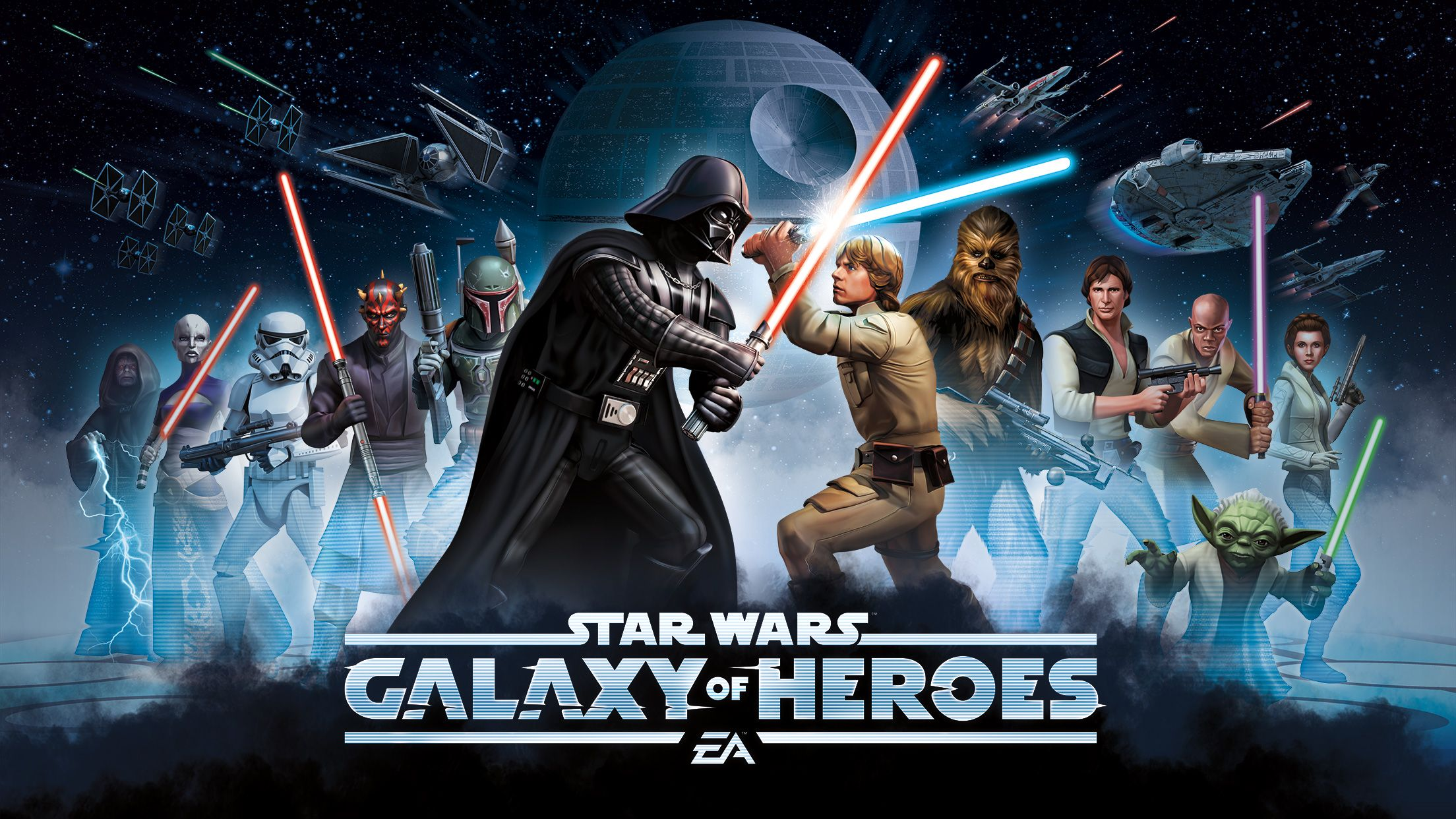 EA Unleashes Star Wars RPG 'Galaxy Of Heroes' To Google