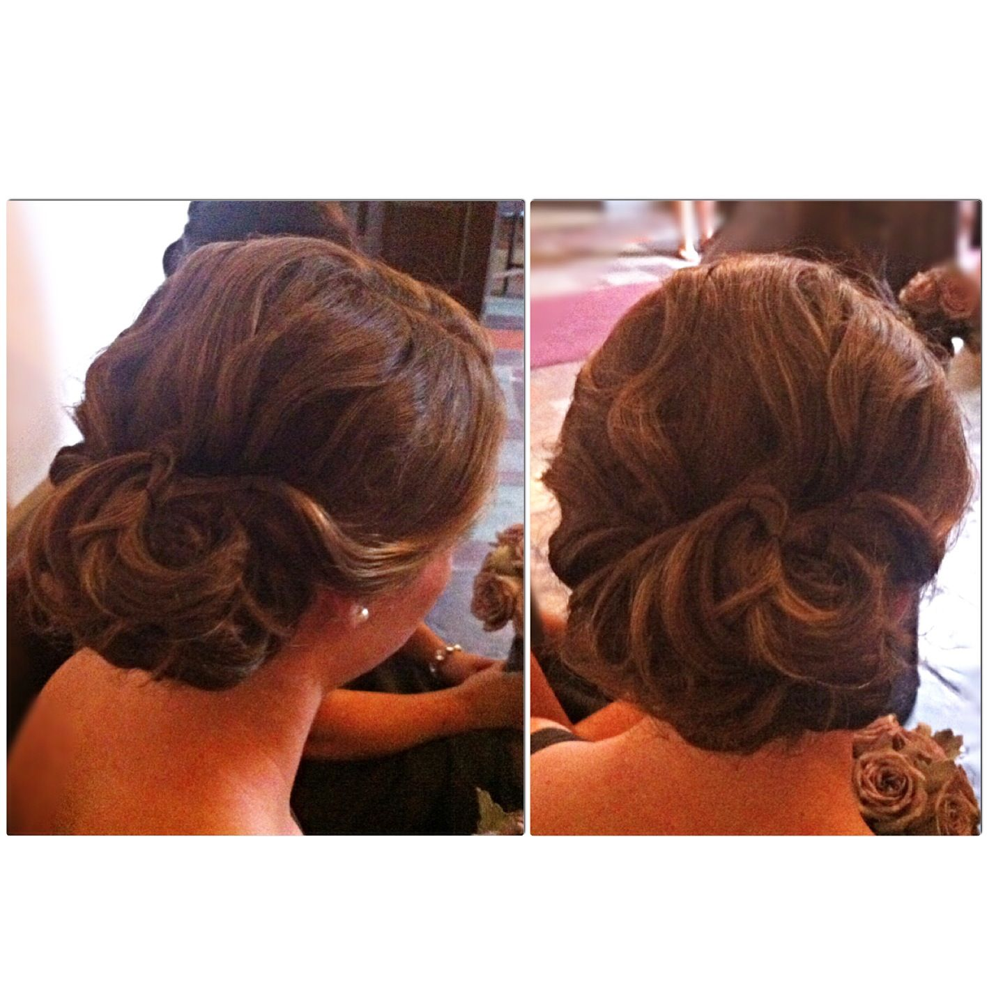 Romantic Updo Inspired By Roses I Love Being Able To Create Soft