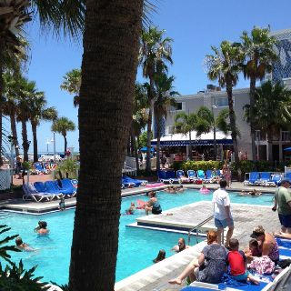 Trade Winds hotel. Lena Hunt of Celebritize You enjoying a beautiful day in St. Pete.
