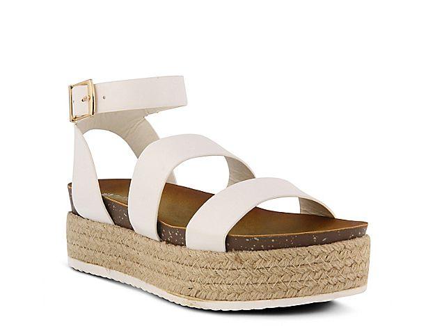 fa9dc9f9ac1 Women Larissa Espadrille Platform Sandal -Light Brown Woven Fabric ...