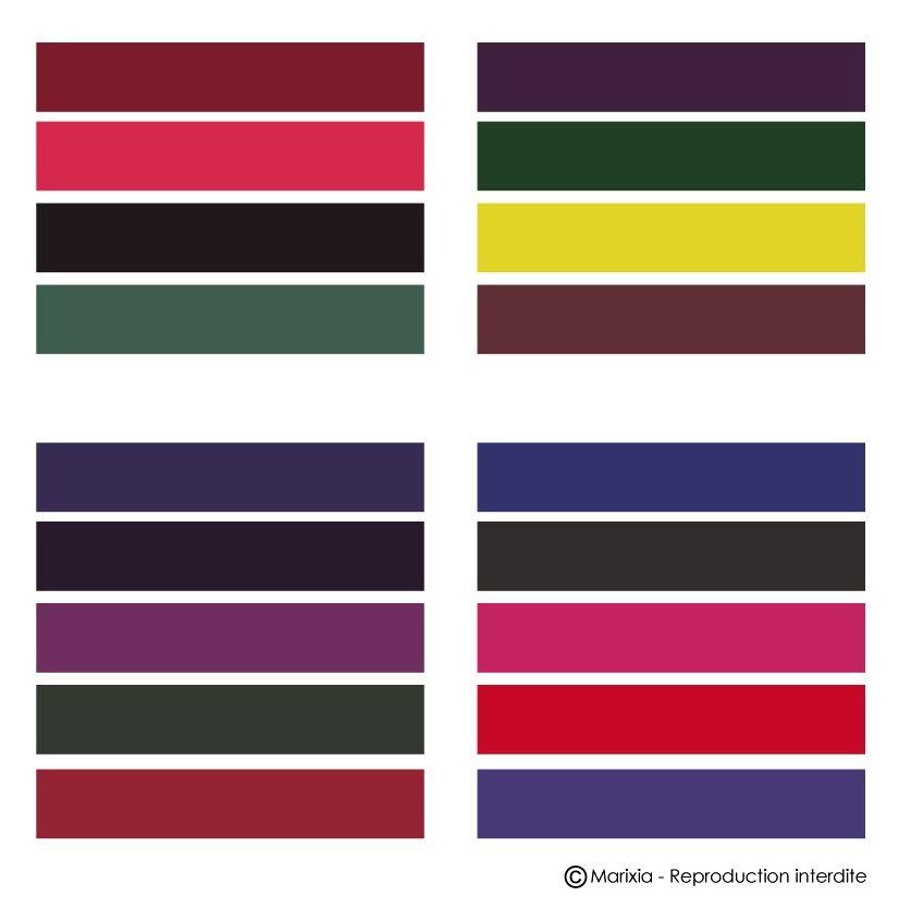 colorimetrie couleur froides intense - Recherche Google ...